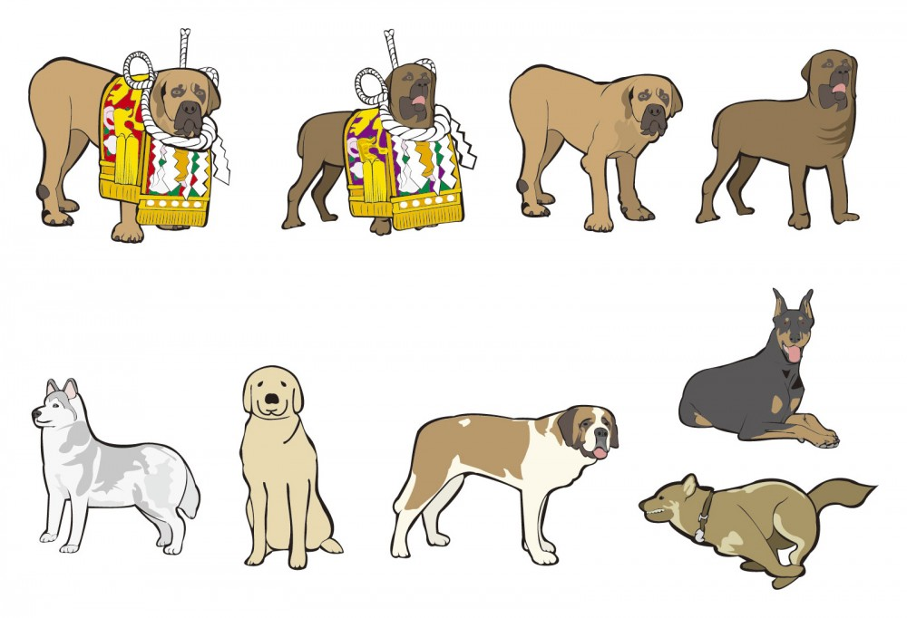 攻撃的な犬種